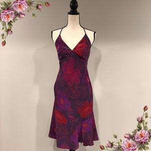 Express floral halter dress